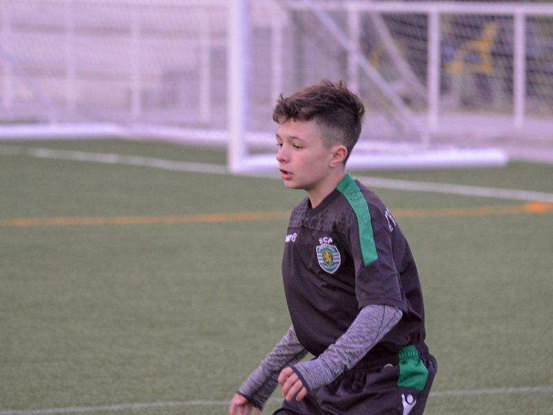 Alfredo Steiner på treningsopphold hos Sporting Academy