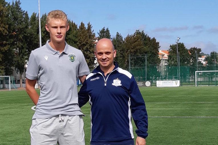 UT AV VINTERDVALEN: NF Academys spillerutvikler mener at ambisiøse fotballtalenter ikke kan ta seg vinterfri. Joao Plantier (t.h)