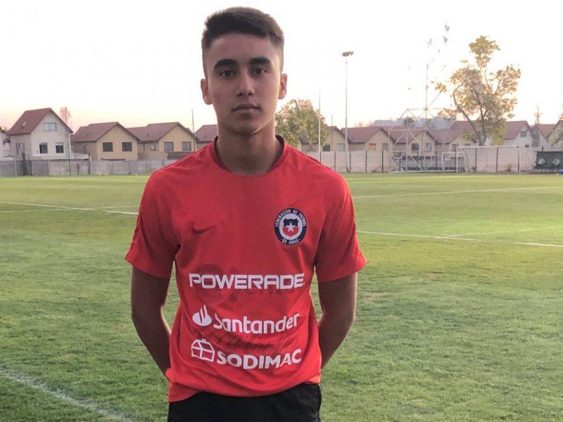 LANDSLAGSUTTAK: Alexi Hughes debuterte nylig for det chilenske U-15 landslaget.