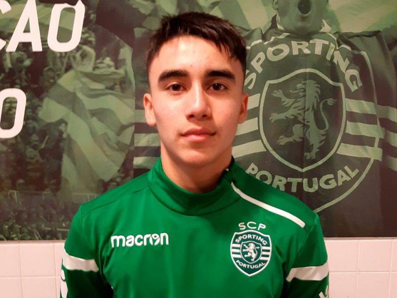 PRØVESPILL HOS SPORTING: Alexi gjorde en god figur under treningsopphold hos Sporting CP i november 2019