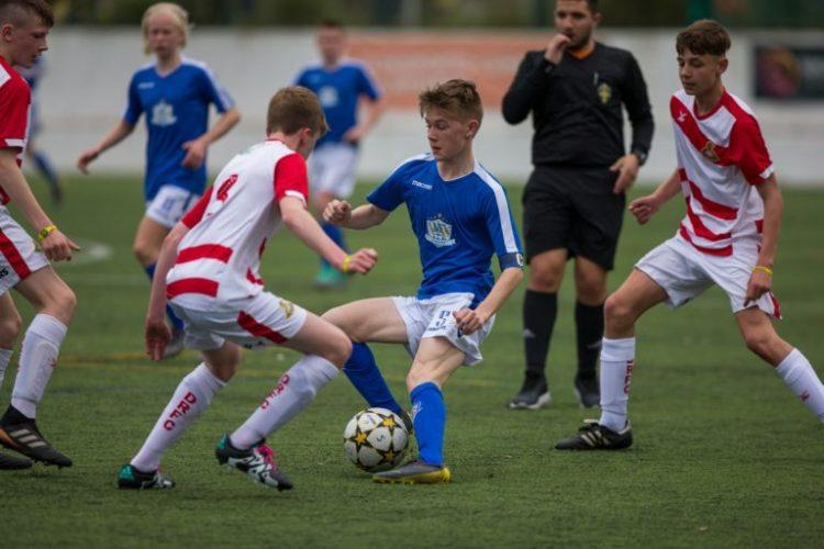 NF Academy Player Ingvar Kolbjørnsen