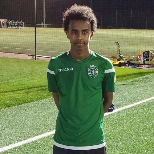 Den svenske Alvesta GIF-spilleren Bashir Huseen Bashiir