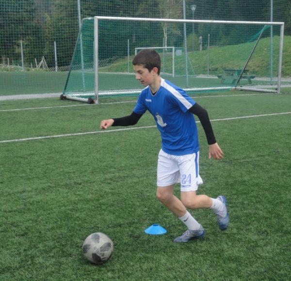 NF Academy Player Elias Gill