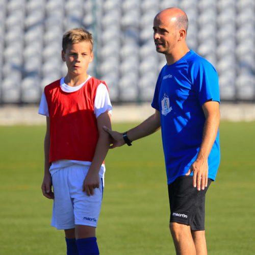 Kimi Storsjö setter virkelig pris på arbeidet og rådene som har kommet fra NF Academy trenerne de siste tre årene på denne reisen som fotballspiller.