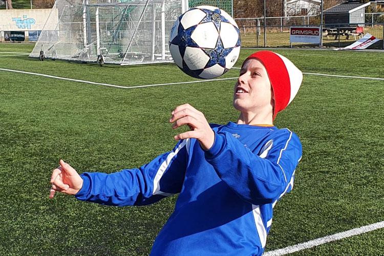 Kristian Lorentzen representerer Larvik Turn og ble nylig invitert til den høyst kompetitive samlingen Equinor Talent Camp.