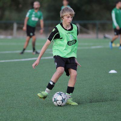 NF Academy Player Noah Solheim