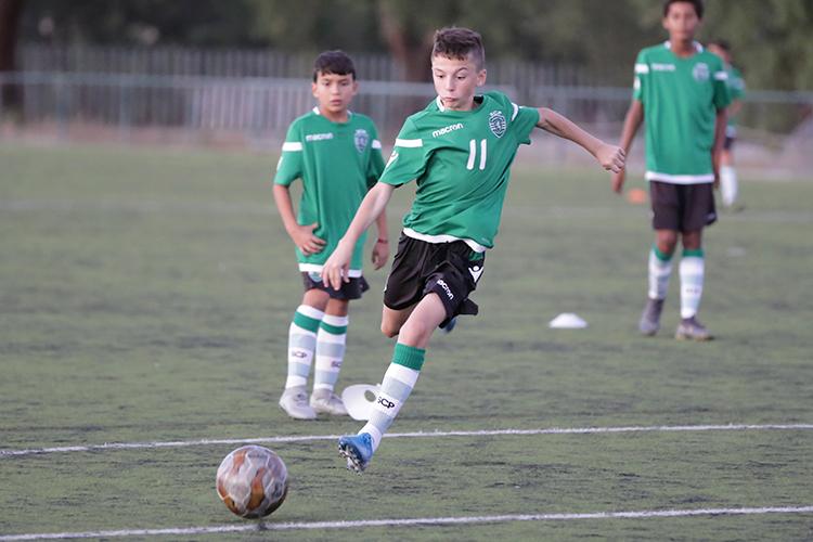 Deltagelse ved et arrangement med NF Academy gir mye - også muligheten til å vinne en ukes treningsopphold hos Sporting CP