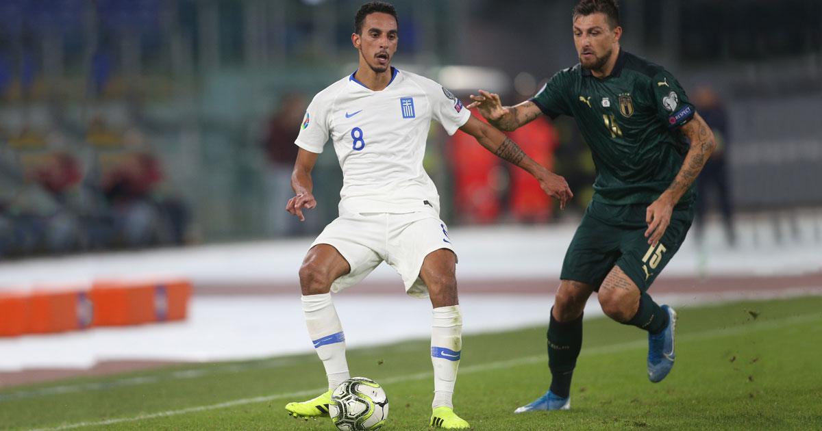Her representerte Zeca det greske landslaget under kvalifiseringskampen til EM i 2020 mellom Italia og Hellas i 2019.