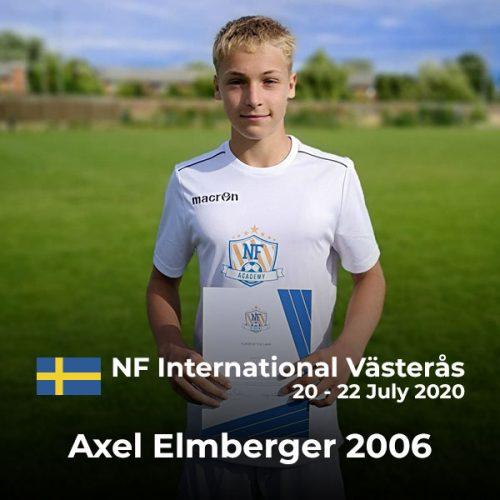NF Academy Spillere Axel Elmberger