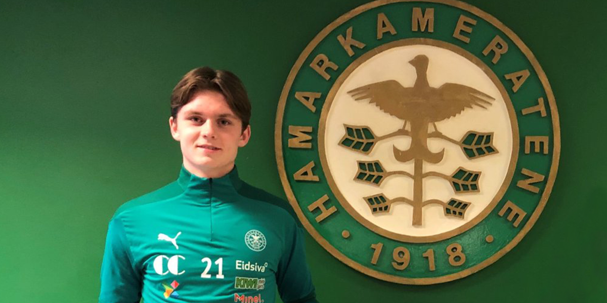 Thorbjørn Kristiansen signed his first professional contract with HamKam