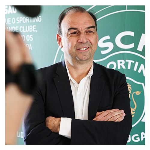 Paulo Gomes, daglig leder for Sporting CPs ungdomsakademi.