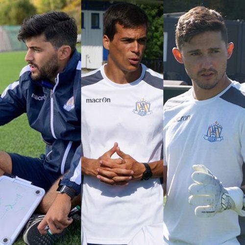 De nye portugisiske trenerne som skal samarbeide tett med spillere i Norge